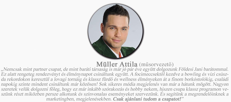 rólunk mondták Müller a