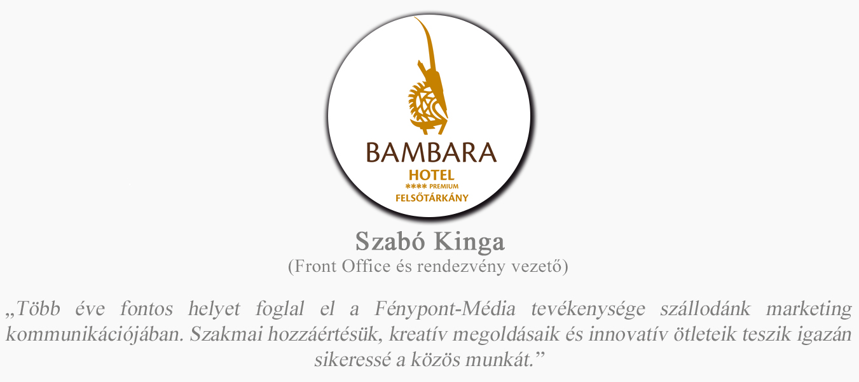rólunk mondták bambara hotel